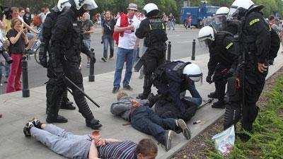 Предупреждение фанатских беспорядков в столице