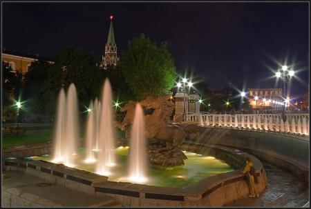 В российской столице открылся «сезон фонтанов»