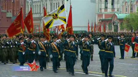 Состоится репетиция парада Победы