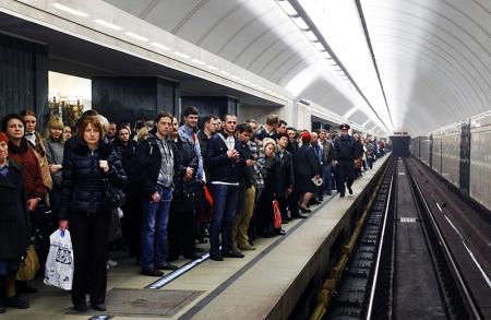 Сбой в работе метрополитена