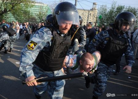 Новые задержания на столичной Болотной площади