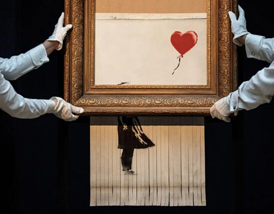 Новый рекорд картины Бэнкси в Sotheby's